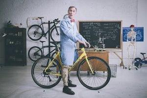 Bill Nye, how to ride a bike.