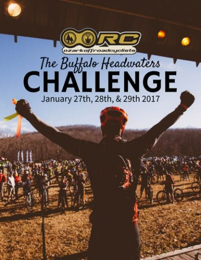 12th Annual OORC Buffalo Headwaters Challenge Mountain Bike Event @ Red Star | Arkansas | United States