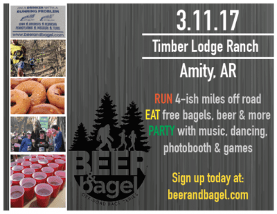 Beer & Bagel Off-Road Race @ Timber Lodge Ranch | Amity | Arkansas | United States