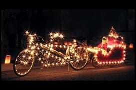 The Christmas Light Cruise @ Bobby's Bike Hike | Little Rock | Arkansas | United States