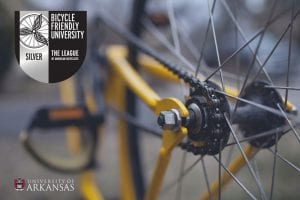 University of Arkansas Earns Silver Level Bicycle Friendly University Award | University of Arkansas