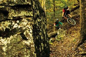 Riders: Woody Woodruff and Chris Crone Location: Upper Buffalo Trail