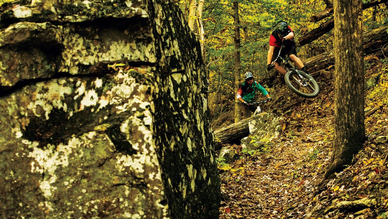 Riders: Woody Woodruff and Chris Crone Location: Upper Buffalo Trail