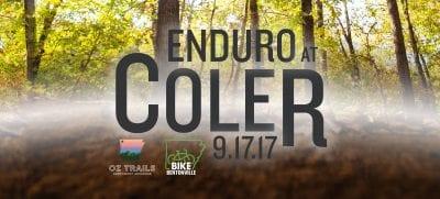 Coler Enduro @ Coler Trail System | Bentonville | Arkansas | United States