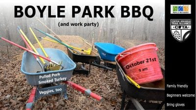 Boyle Park BBQ and work party @ Boyle Park | Little Rock | Arkansas | United States