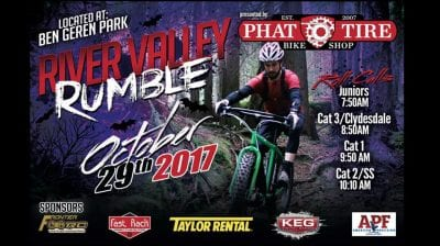 River Valley Rumble Presented by: Phat Tire Bike Shop @ Ben Geren Park | Fort Smith | Arkansas | United States