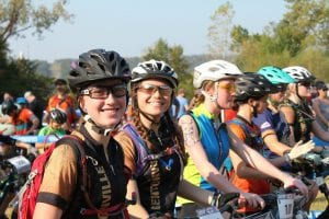 Competition, Camaraderie Fuel Growth of Mountain Bike Racing Among High School Girls