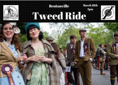 Bentonville Tweed Ride @ Pedaler's Pub