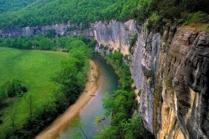 Roark Bluff, photo courtesy of Arkansas Department of Parks & Tourism