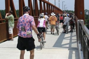 Sharing BikePed Trails | City of Little Rock