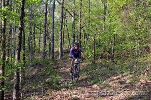 Central Arkansas Water Taking Applications for Mountain Biking Study