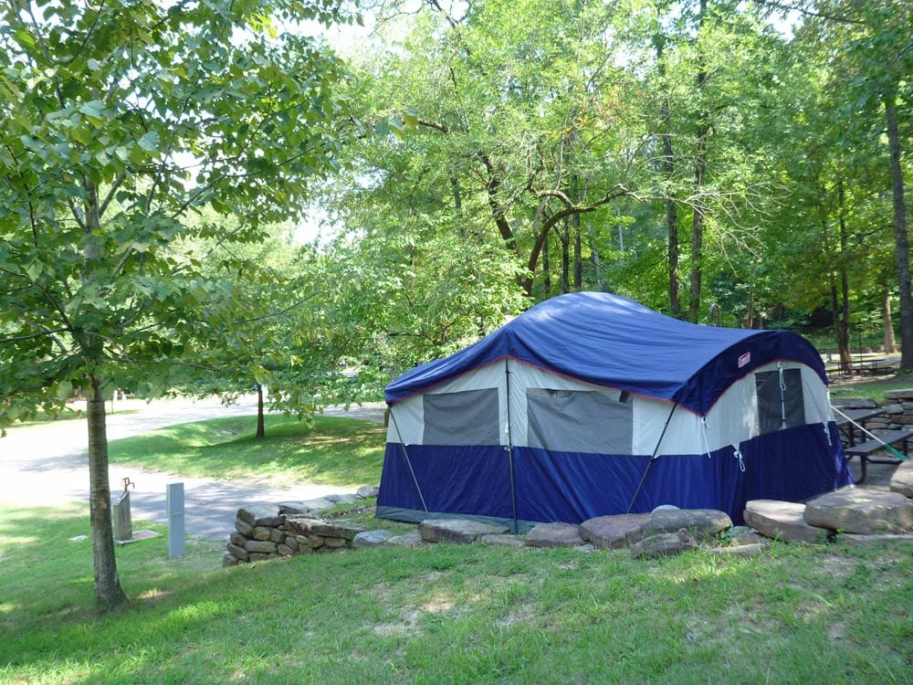 Buffalo river camping full hookups