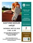 East End Sizzler 5K/10K @ East Union Missionary Baptist Church | Hensley | Arkansas | United States