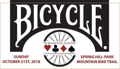 7th Annual HOG on the Hill Mountain Bike Poker Ride @ Springhill Park