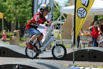 Kids Strider Bike Pump Track Race @ Runway Bike Park | Springdale | Arkansas | United States