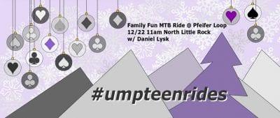 Family Fun Pfeifer Loop Ride @ Cooks Landing