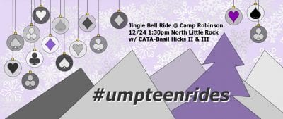 Annual Jingle Bell Ride @ Camp Robinson Trails