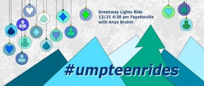 Greenway Lights Ride @ Mud Creek Trail