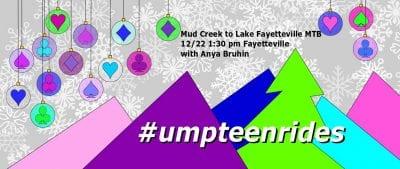 Mud Creek to Lake Fayetteville MTB @ Mud Creek Trail