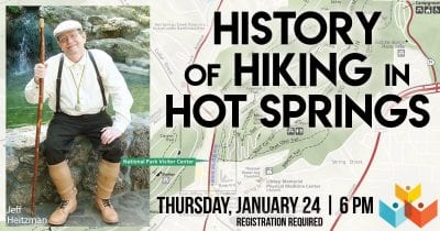 History of Hiking in Hot Springs @ Garland County Library
