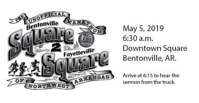 Square to Square Marathon @ Bentonville Square