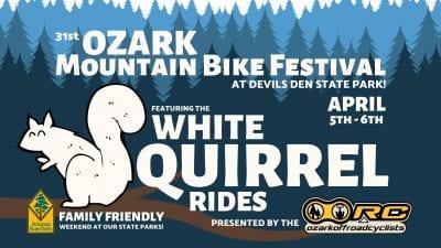 31st Ozark Mountain Bike Festival @ Devils Den State Park