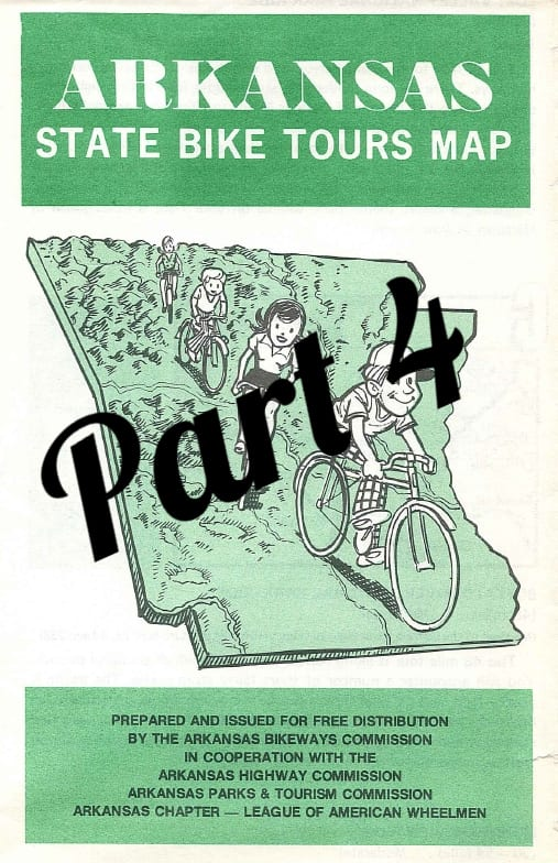 Bicycling in Arkansas - 40 Years Ago - Part 4