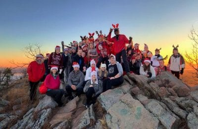 5th Annual Christmas Eve Pinnacle Mountain Sunrise Hike @ Pinnacle Mountain State Park | Arkansas | United States