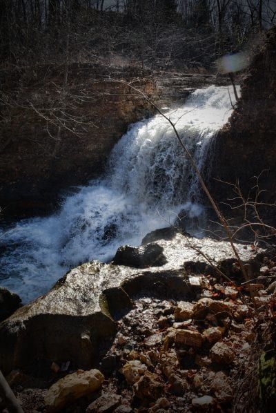 Tanyard Creek Waterfall