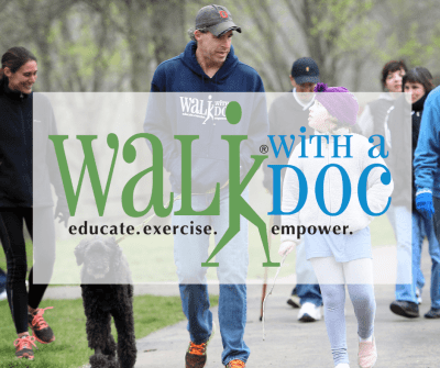 Walk with a Doc (Canceled or Postponed) @ War Memorial Stadium North Lawn | Little Rock | Arkansas | United States