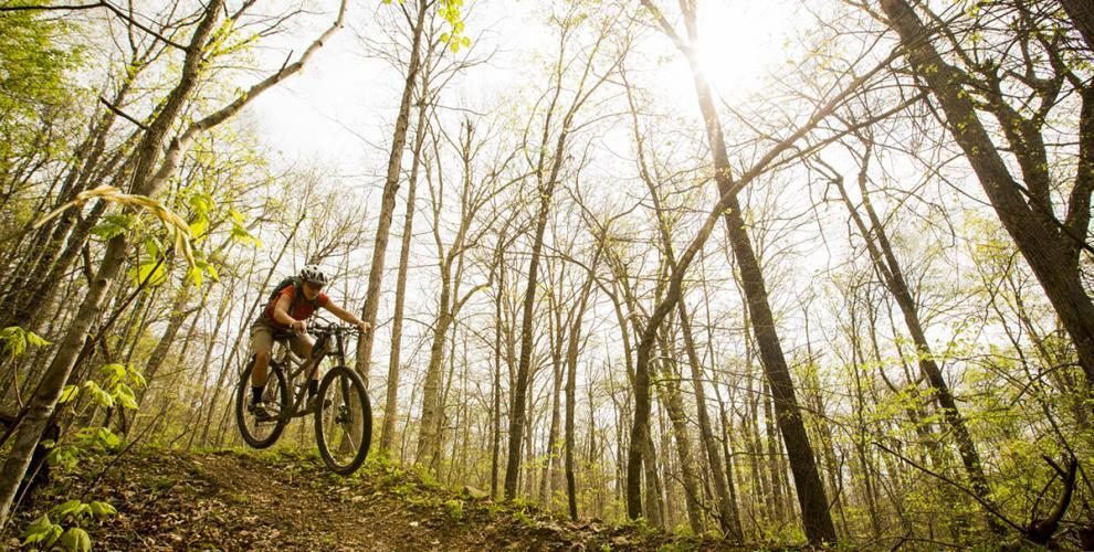 Photo courtesy of: The Upper Buffalo Headwaters IMBA EPIC, made possible by LWCF