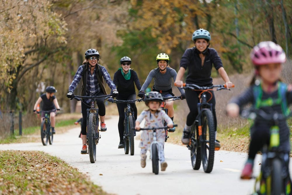 Families-Riding-Together-at-Coler