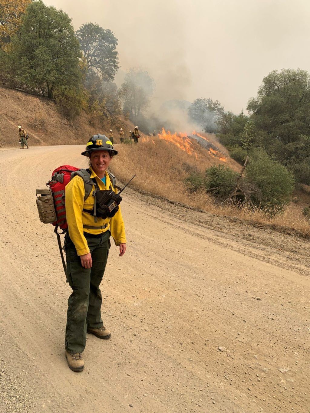 Jessica Hawkins, Forest Ecologist, on the August Complex Wildfire in California as a Fireline EMT