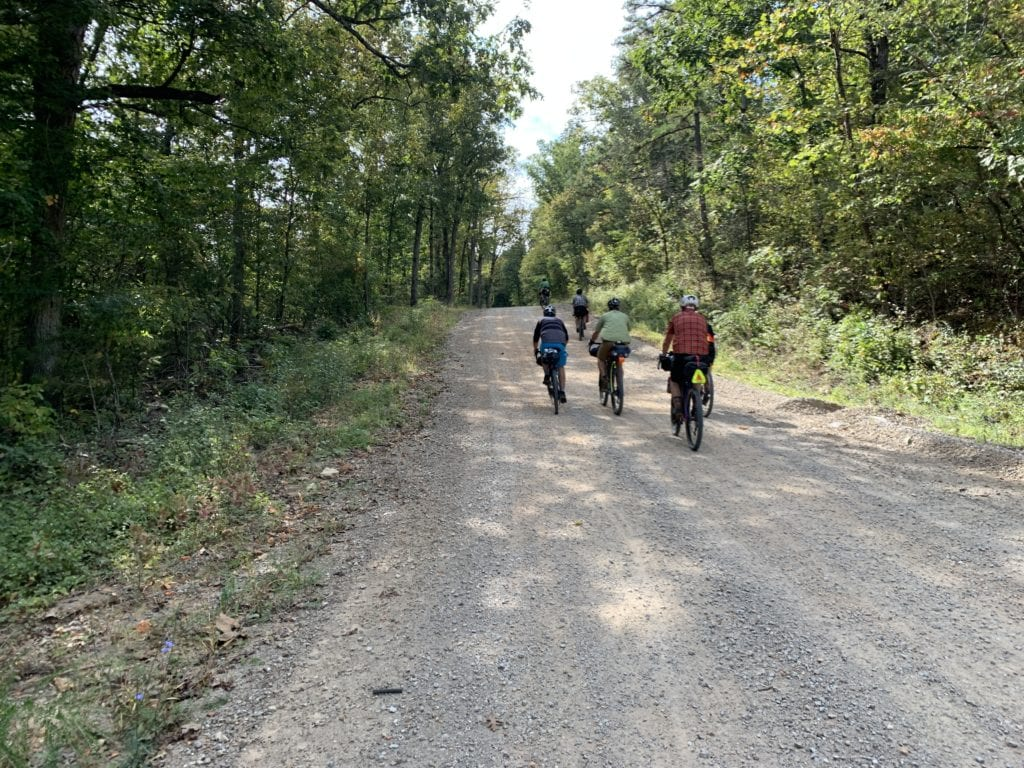 Grinding through the Madison County Wildlife Management Area (WMA)