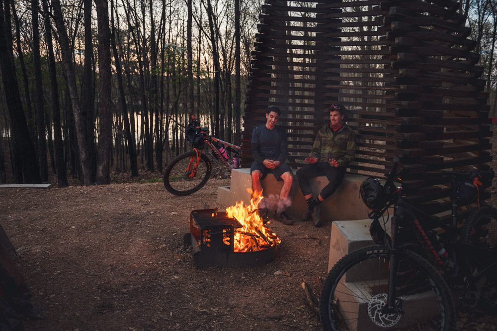 Bike-in Campsite at Hobbs State Park-Conservation Area